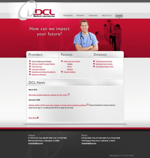 DCL Website Design