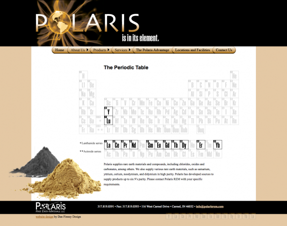 Polaris Website Design