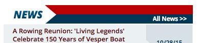 US Rowing News Module screenshot